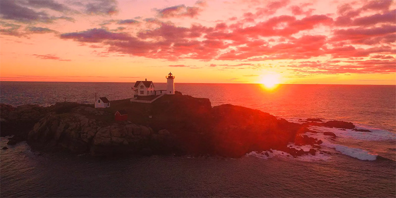 Maine Video - 4K Drone Footage