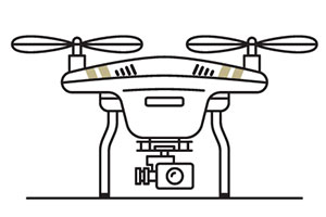 drone video footage