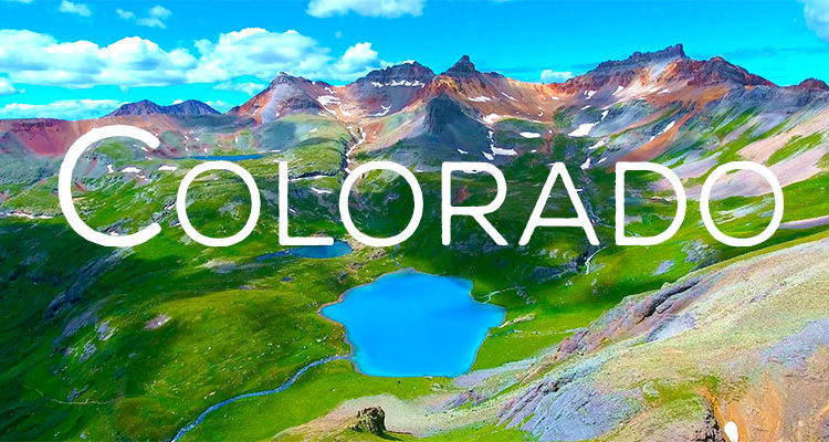 Flying Colorful Colorado By Drone - 4K Video Footage