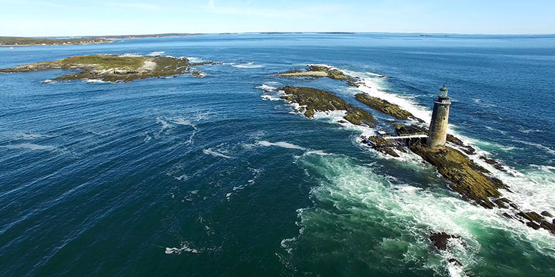 Maine Aerial Drone Video Footage