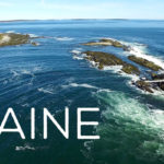 Maine drone aerial video footage