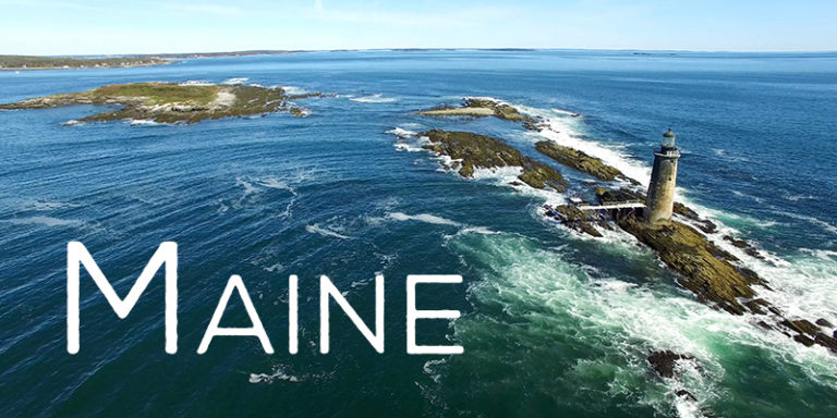 Maine From The Sky - Aerial Drone Footage