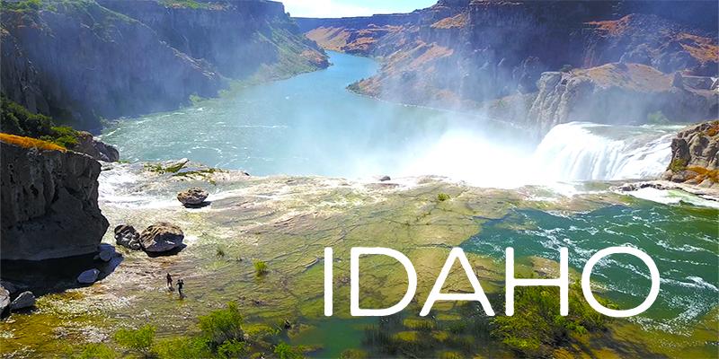 idaho drone footage