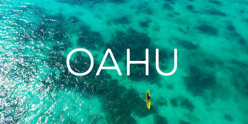 hawaii oahu drone footage