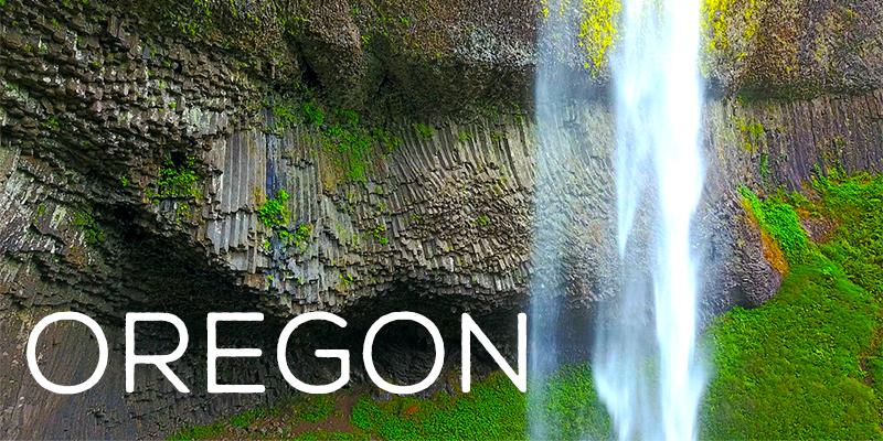 oregon drone footage