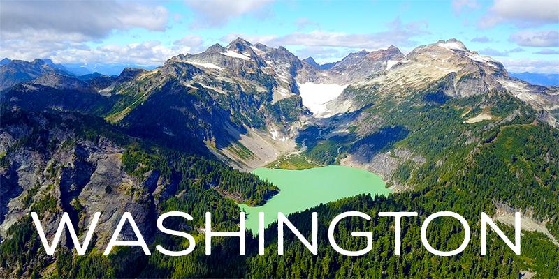 washington drone footage